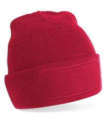 Image 5 of Beechfield Patch Beanie