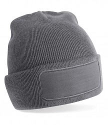 Image 7 of Beechfield Patch Beanie