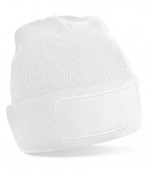 Image 8 of Beechfield Patch Beanie