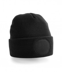 Image 2 of Beechfield Circular Patch Beanie