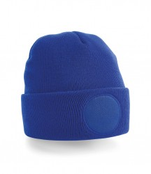 Image 3 of Beechfield Circular Patch Beanie