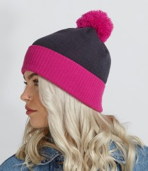 Beechfield Snowstar Two Tone Beanie image