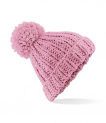 Image 2 of Beechfield Oversized Hand Knit Beanie