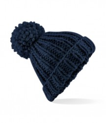 Image 3 of Beechfield Oversized Hand Knit Beanie