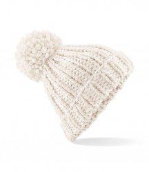 Image 4 of Beechfield Oversized Hand Knit Beanie