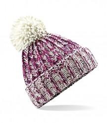 Image 3 of Beechfield Twist-Knit Pom Pom Beanie