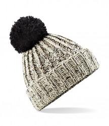 Image 5 of Beechfield Twist-Knit Pom Pom Beanie