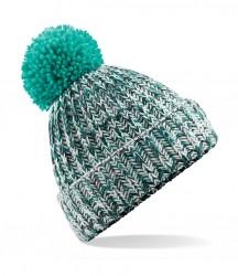 Image 6 of Beechfield Twist-Knit Pom Pom Beanie