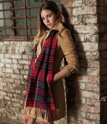 Image 1 of Beechfield Classic Check Scarf