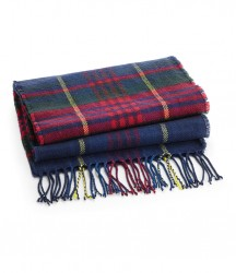 Image 2 of Beechfield Classic Check Scarf
