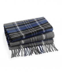 Image 3 of Beechfield Classic Check Scarf