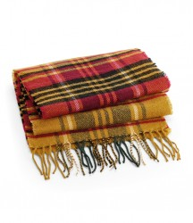 Image 4 of Beechfield Classic Check Scarf