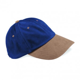 Image 8 of Beechfield Heavy Brushed Low Profile Cap