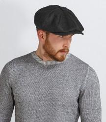 Image 1 of Beechfield Melton Wool Baker Boy Cap