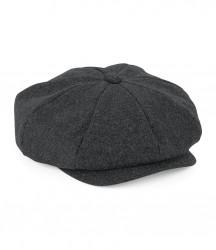Image 2 of Beechfield Melton Wool Baker Boy Cap