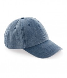 Image 2 of Beechfield Vintage Low Profile Cap