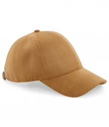 Image 2 of Beechfield Faux Suede 6 Panel Cap