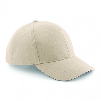 Image 2 of Beechfield Pro-Style Heavy Brushed Cotton Cap