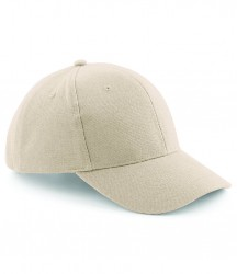 Image 3 of Beechfield Pro-Style Heavy Brushed Cotton Cap