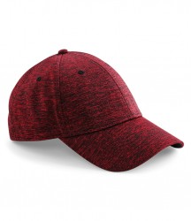 Image 3 of Beechfield Spacer Marl Stretch-Fit Cap