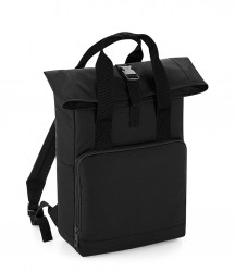 Image 3 of BagBase Twin Handle Roll-Top Backpack