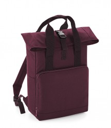 Image 4 of BagBase Twin Handle Roll-Top Backpack