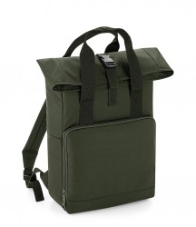 Image 8 of BagBase Twin Handle Roll-Top Backpack