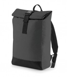 Image 2 of BagBase Reflective Roll-Top Backpack