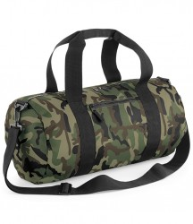 BagBase Camo Barrel Bag image