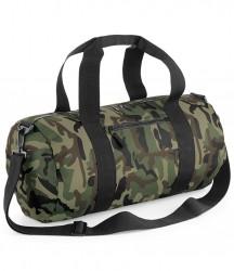 BagBase Camo Barrel Bag image