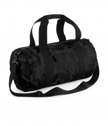 Image 2 of BagBase Camo Barrel Bag