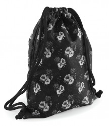 Image 4 of BagBase Graphic Drawstring Backpack