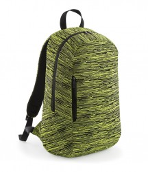 Image 2 of BagBase Duo Knit Backpack