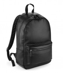 Image 2 of BagBase Faux Leather Backpack