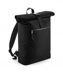 Image 2 of BagBase Recycled Roll-Top Backpack