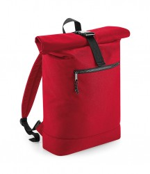 Image 3 of BagBase Recycled Roll-Top Backpack