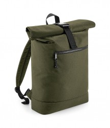 Image 4 of BagBase Recycled Roll-Top Backpack