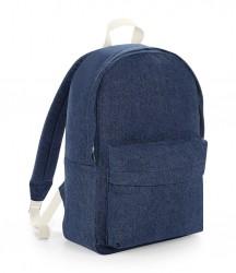 Image 2 of BagBase Denim Backpack