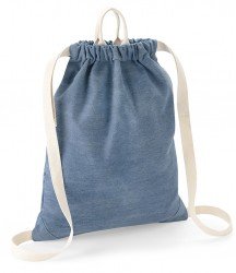 Image 3 of BagBase Denim Gymsac