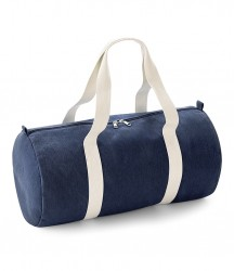 Image 2 of BagBase Denim Barrel Bag