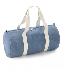 Image 3 of BagBase Denim Barrel Bag