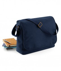 BagBase Classic Canvas Messenger image
