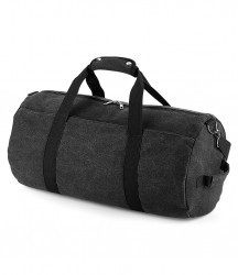 Image 2 of BagBase Vintage Canvas Barrel Bag