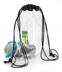 BagBase Clear Gymsac image