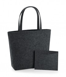 Image 3 of BagBase Felt Shopper