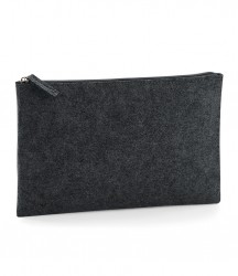 Image 2 of BagBase Felt Accessory Pouch