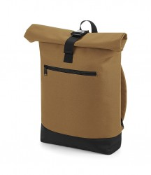 Image 3 of BagBase Roll-Top Backpack