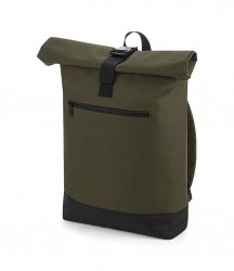 Image 6 of BagBase Roll-Top Backpack