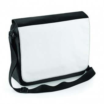 BagBase Sublimation Messenger Bag image