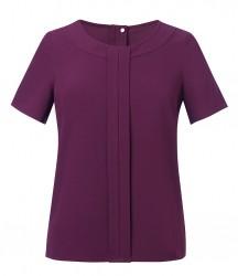 Image 2 of Brook Taverner Ladies Verona Short Sleeve Shirt